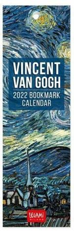 Segnalibro calendario Legami 2022 Vincent Van Gogh - 5,5x18 cm