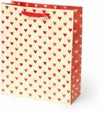 Sacchetto regalo Legami Gift Bag Large Hearts. Cuori