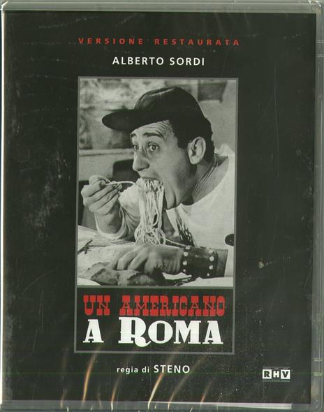 Un americano a Roma (Blu-ray) di Steno - Blu-ray