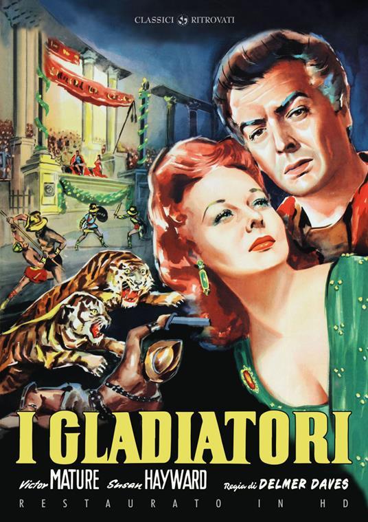 I gladiatori (Restaurato in HD) (DVD) di Delmer Daves - DVD