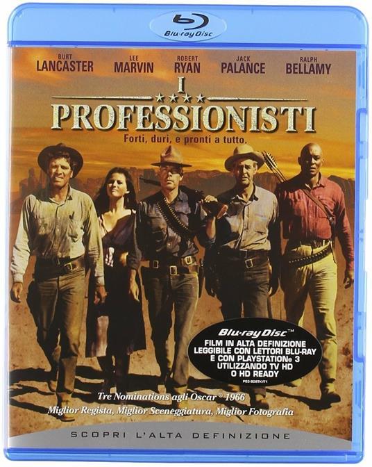 I professionisti (Blu-ray) di Richard Brooks - Blu-ray