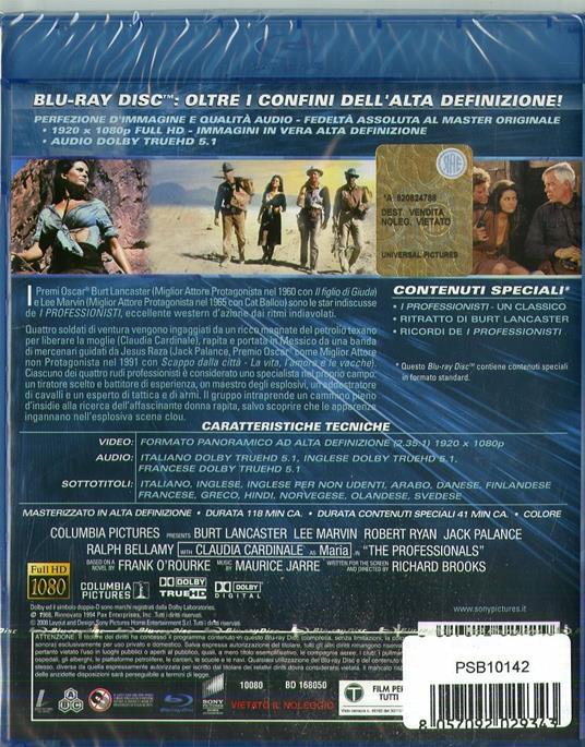 I professionisti (Blu-ray) di Richard Brooks - Blu-ray - 2