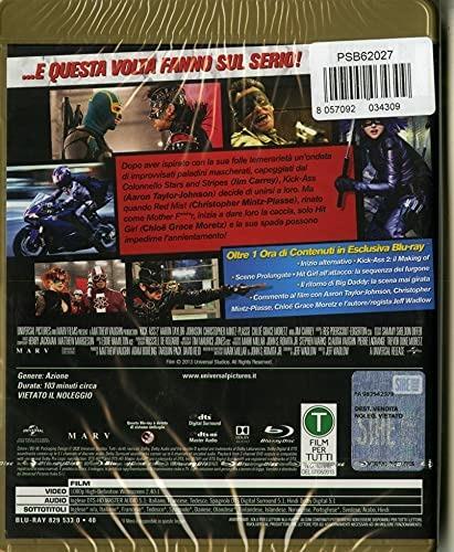 Kick Ass 2 (Blu-ray) di Jeff Wadlow - Blu-ray - 2