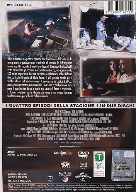 Solo. Stagione 1. Serie TV ita (2 DVD) di Michele Alhaique - DVD - 2