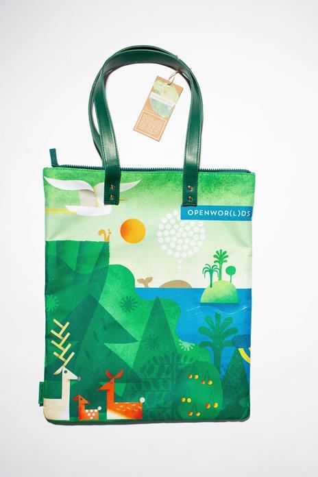 Bag Artist - Realizzata con fibre di plastica riciclata