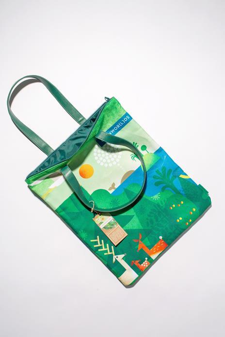 Bag Artist - Realizzata con fibre di plastica riciclata - 2