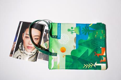 Bag Artist - Realizzata con fibre di plastica riciclata - 3