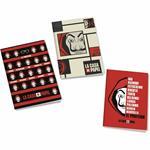 Quaderno Maxi A4 La Casa De Papel. Quadretti piccoli 4 mm