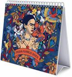 Calendario da scrivania 2022 Frida Kahlo - 20 x 6,5 x 18 cm