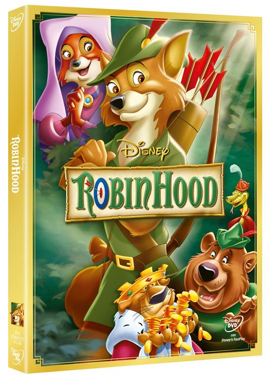Robin Hood<span>.</span> Special Edition di Wolfgang Reitherman,Don Bluth - DVD
