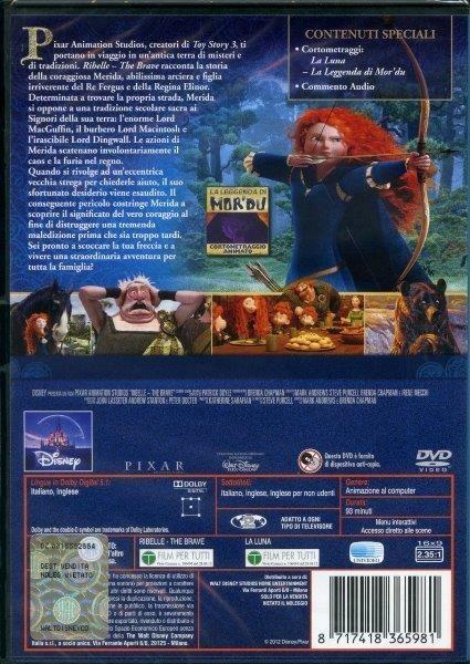 Ribelle. The Brave di Mark Andrews,Brenda Chapman,Steve Purcell - DVD - 2
