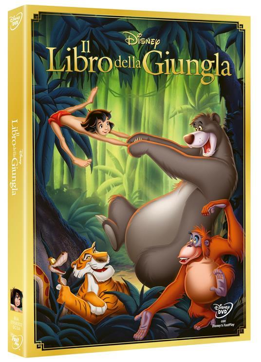 Il libro della giungla<span>.</span> Edizione speciale di Wolfgang Reitherman - DVD