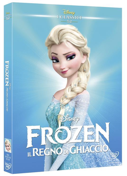 Frozen. Il regno di ghiaccio (DVD) di Chris Buck,Jennifer Lee - DVD