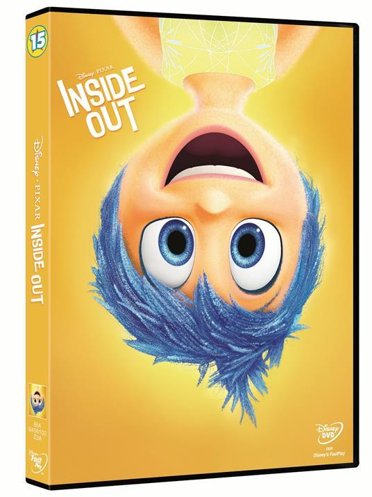 Inside Out (DVD) di Pete Docter,Ronnie Del Carmen - DVD