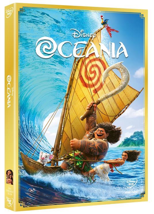 Oceania (DVD) di Ron Clements,John Musker,Chris Williams,Don Hall - DVD