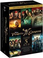 Pirati dei Caraibi. Collezione 5 film (5 DVD)