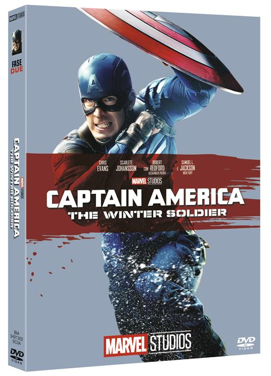 Captain America. The Winter Soldier di Anthony Russo,Joe Russo - DVD
