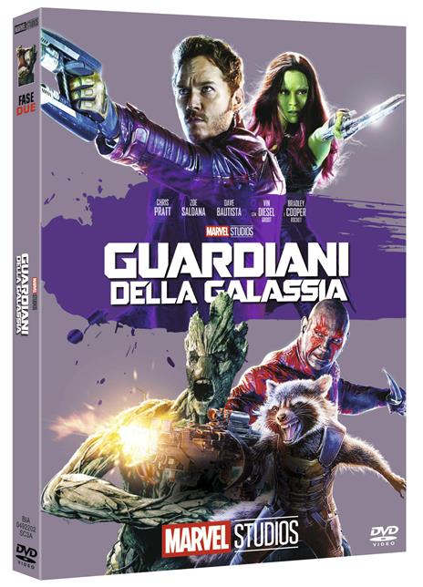 Guardiani della galassia di James Gunn - DVD
