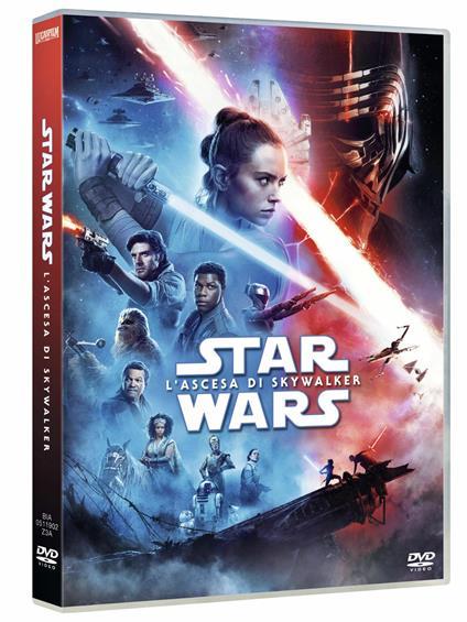 Star Wars. L'ascesa di Skywalker (DVD) di J. J. Abrams - DVD