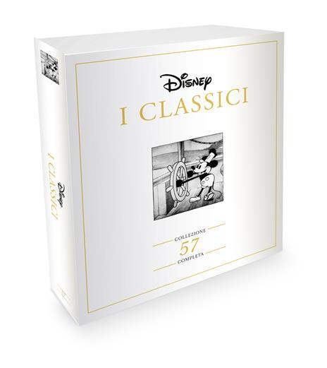I Classici Disney. Collezione Completa (57 DVD) di Walt Disney,David Hand,Ron Clements,Burny Mattinson,David Michener