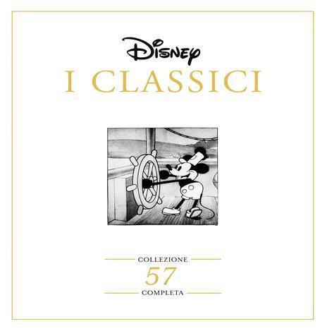 I Classici Disney. Collezione Completa (57 DVD) di Walt Disney,David Hand,Ron Clements,Burny Mattinson,David Michener - 2