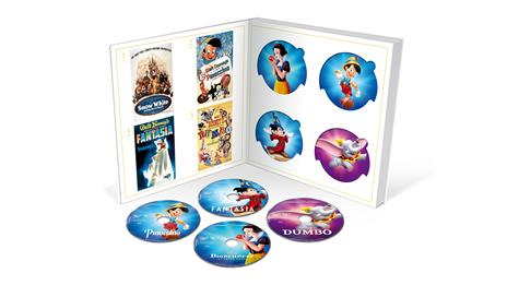 I Classici Disney. Collezione Completa (57 DVD) di Walt Disney,David Hand,Ron Clements,Burny Mattinson,David Michener - 3