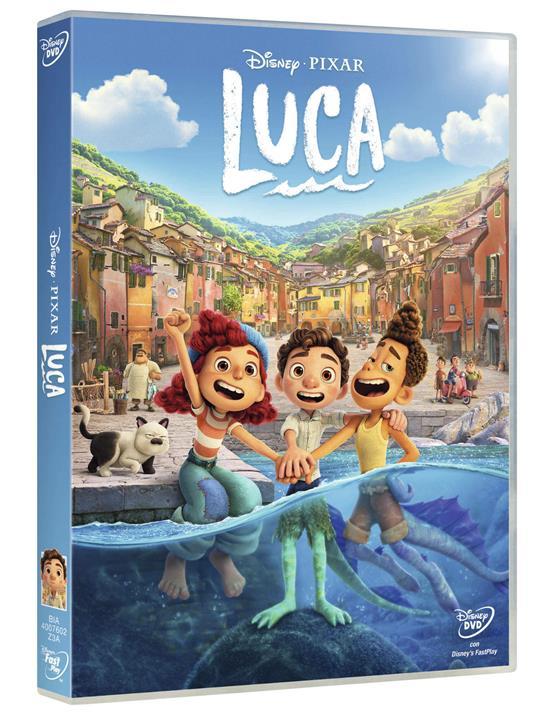 Luca (DVD) di Enrico Casarosa - DVD - 2