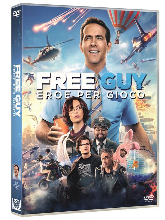 Free Guy. Eroe per gioco (DVD) di Shawn Levy - DVD