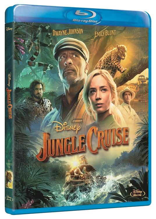 Jungle Cruise (Blu-ray) di Jaume Collet-Serra - Blu-ray