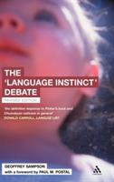 The 'Language Instinct' Debate - Geoffrey Sampson - cover