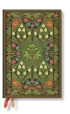 Agenda 2022 Paperblanks, 12 Mesi, Poesia in Fiore, Mini, VSO, Poesia in Fiore - 9,5 x 14 cm