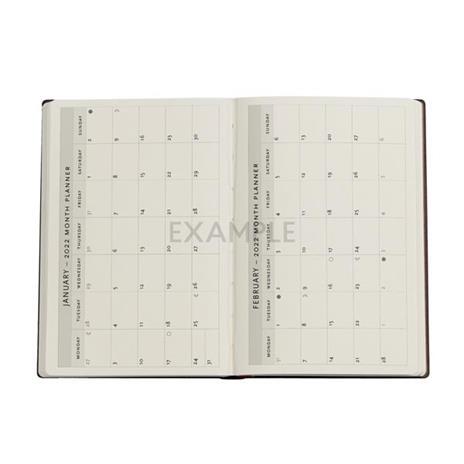 Agenda 2022 Paperblanks, 12 Mesi, Poesia in Fiore, Mini, VSO, Poesia in Fiore - 9,5 x 14 cm - 3