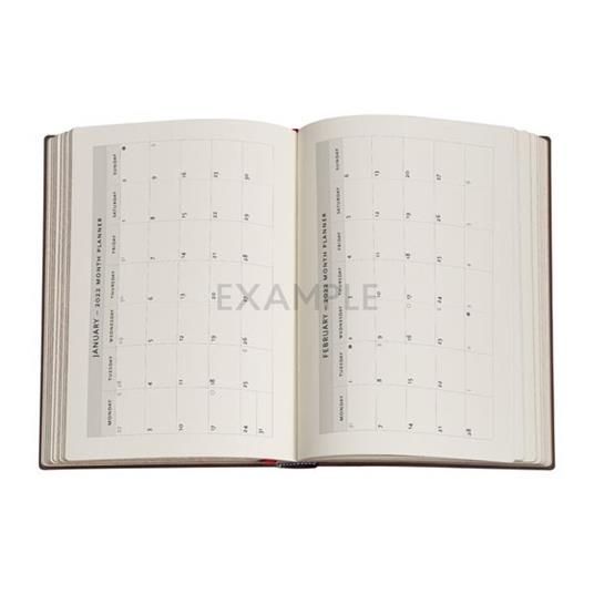 Agenda 2022 Paperblanks, 12 Mesi, Sentiero Dorato, Midi, VSO, Sentiero Dorato - 13 x 18 cm - 3