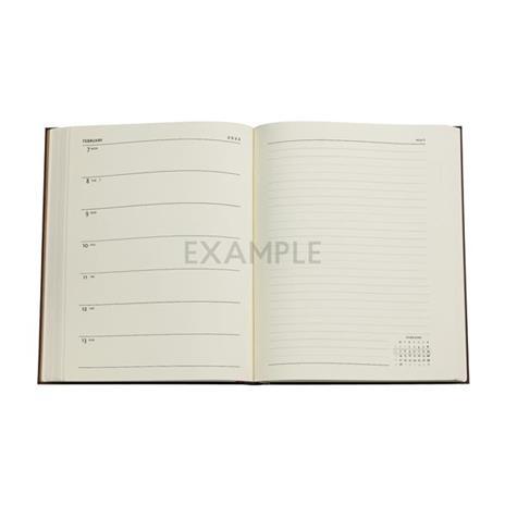 Agenda 2022 Paperblanks, 12 Mesi, Arabica, Ultra, VSO, Collezione Antica Pelle - 18 x 23 cm - 2