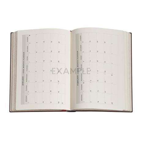 Agenda 2022 Paperblanks, 12 Mesi, Paesaggi di Parole, Midi, OR, Libera la Mente - 12,5 x 17,5 cm - 3