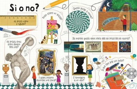 L' arte. Il libro dei perché. Ediz. a colori - Katie Daynes - 2
