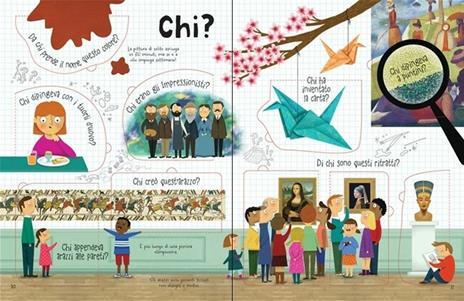 L' arte. Il libro dei perché. Ediz. a colori - Katie Daynes - 4