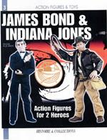 12 Inch Indiana Jones and James Bond: Action Figures for 2 Heroes