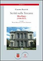Scritti sulla Toscana. Vol. 4: Miscellanea (1954-2007).