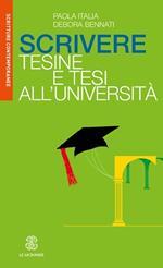 Scrivere tesine e tesi all'Università