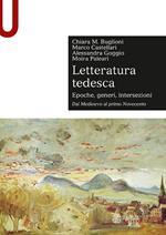 Letteratura tedesca. Vol. 1: Dal Medioevo al primo Novecento.