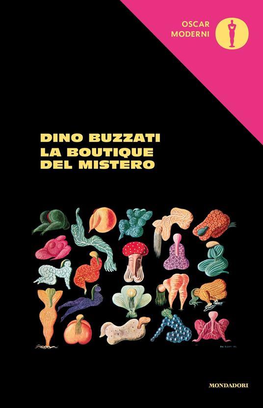 La boutique del mistero - Dino Buzzati - copertina