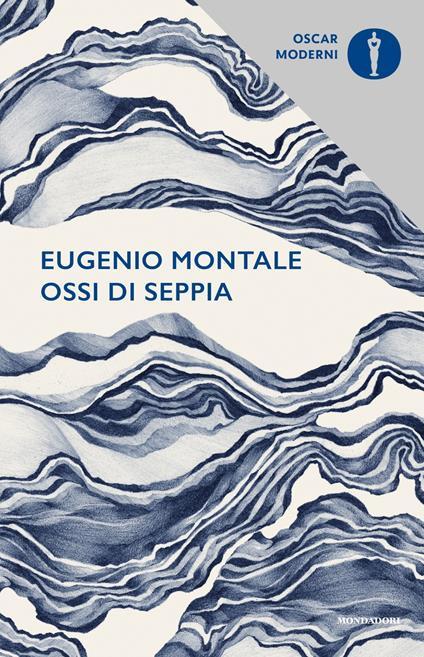 Ossi di seppia - Eugenio Montale - copertina
