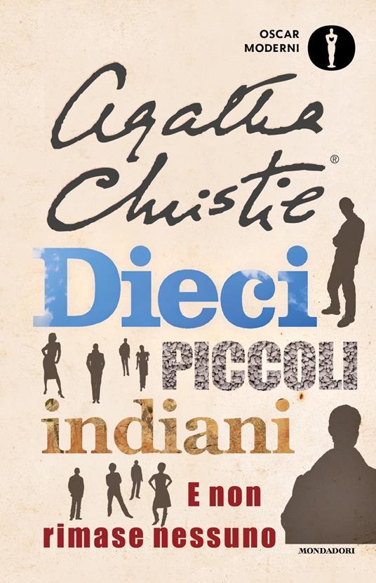 Dieci piccoli indiani. E non rimase nessuno - Agatha Christie - copertina
