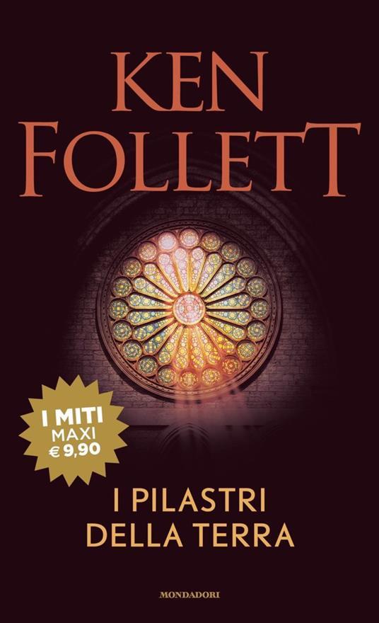 I pilastri della terra - Ken Follett - copertina