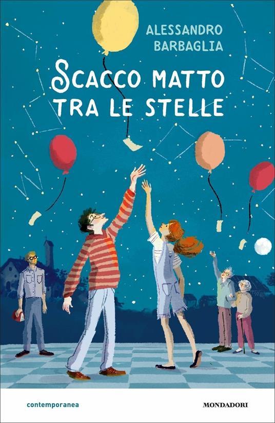 Scacco matto tra le stelle - Alessandro Barbaglia - copertina