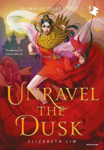 Unravel the dusk - Elizabeth Lim - copertina