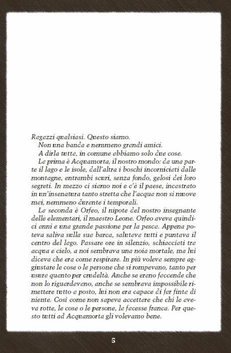 I segreti di Acquamorta. Vol. 1: Delitto al lago - Fabio Geda,Marco Magnone - 3