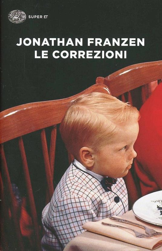 Le correzioni - Jonathan Franzen - copertina