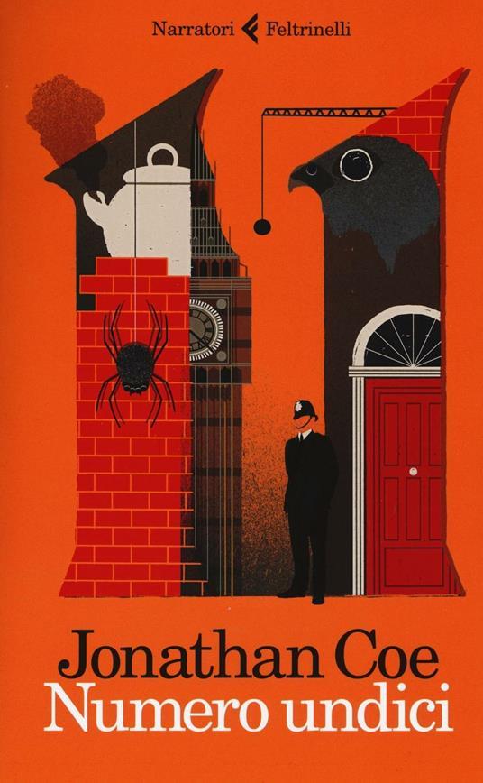 Numero undici - Jonathan Coe - copertina